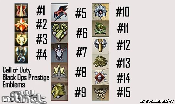 cod black ops emblems cool. call of duty black ops emblems